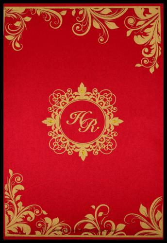 test Custom Wedding Cards - CZC-9096