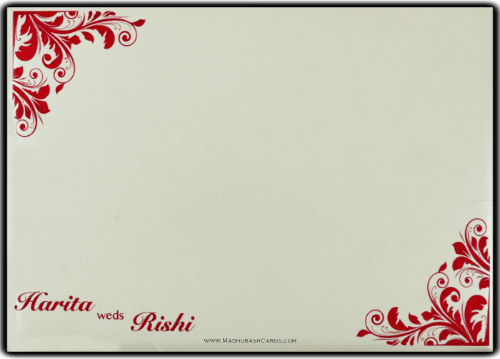 Customized Wedding Invitations - CZC-9096 - 3