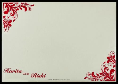 Custom Wedding Cards - CZC-9096 - 3