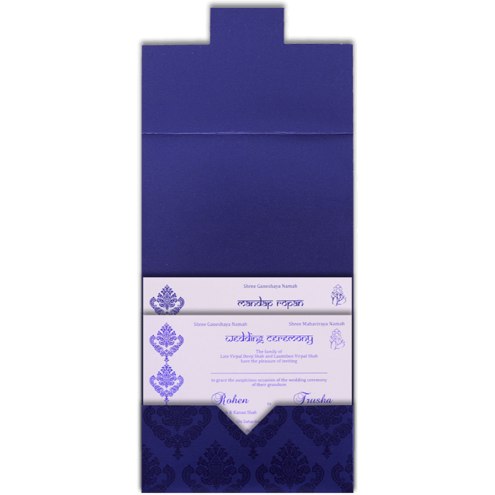 Custom Wedding Cards - CZC-9067 - 5