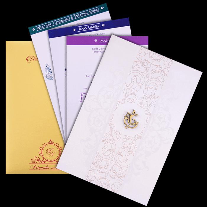 test Custom Wedding Cards - CZC-9108
