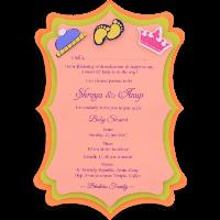 Birthday Invitation Cards - BPI-9762