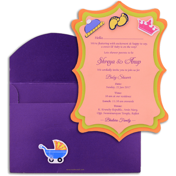 Birthday Invitation Cards - BPI-9762 - 4
