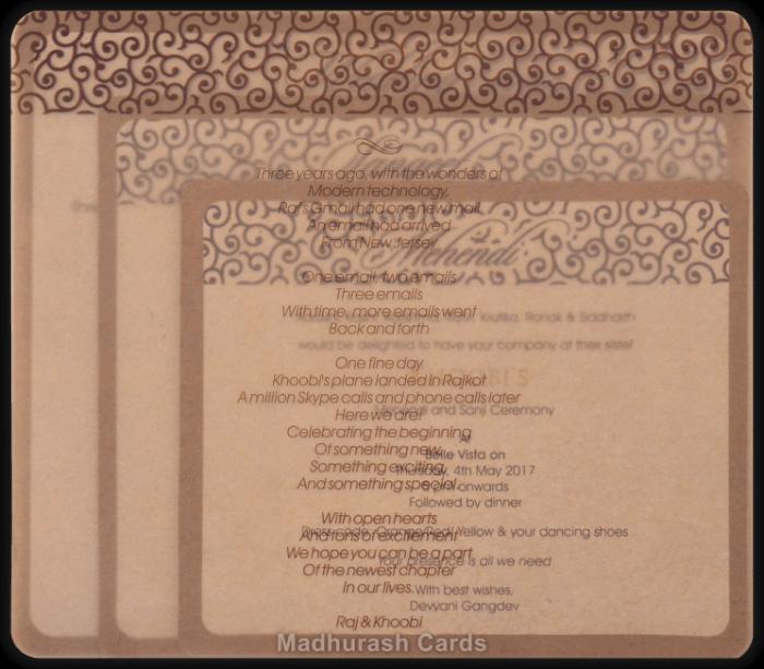 Designer Invitations - DWC-8857