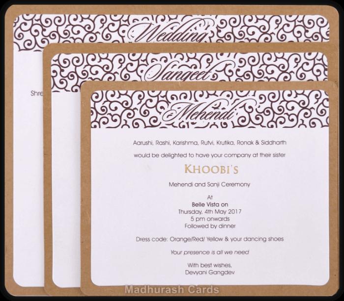 Designer Invitations - DWC-8857 - 4