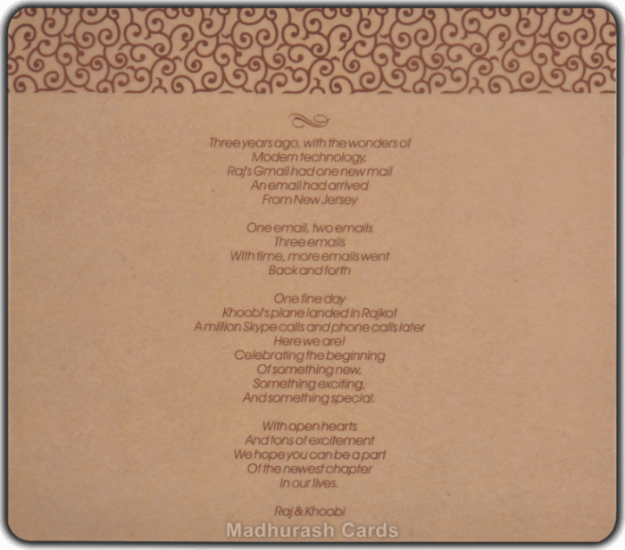 Designer Invitations - DWC-8857 - 5