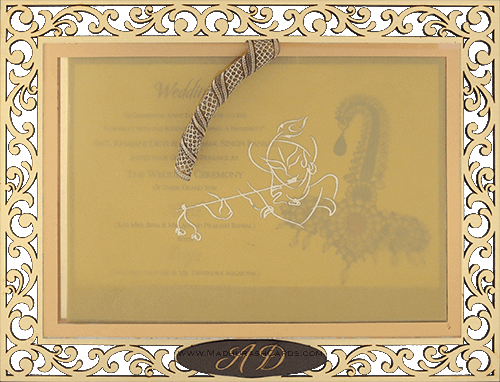 test Custom Wedding Cards - CZC-9001