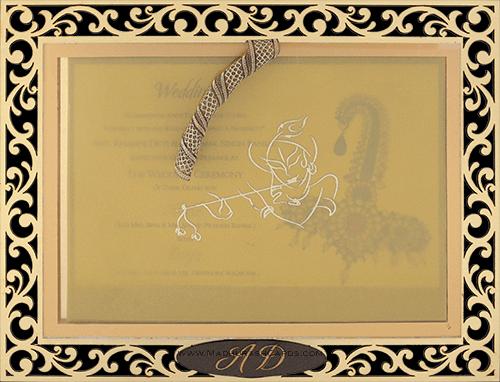 Customized Wedding Invitations - CZC-9001