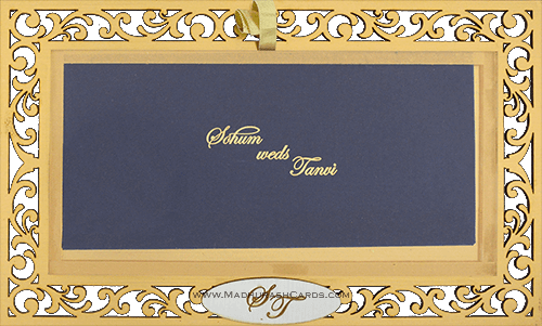 Customized Wedding Invitations - CZC-9002