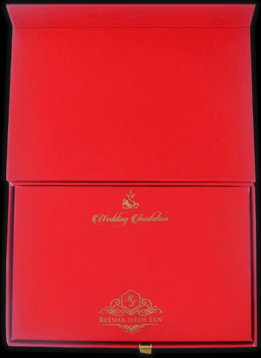 Custom Wedding Cards - CZC-8742 - 4