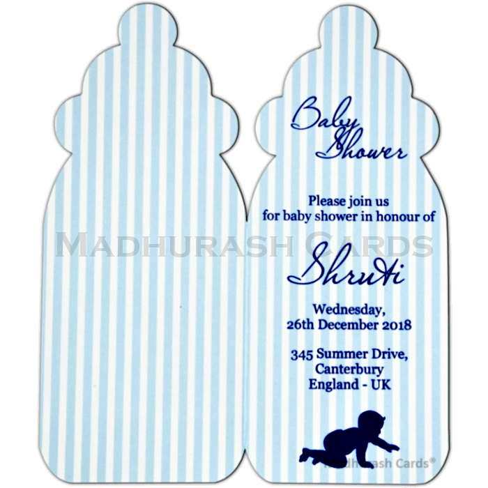 Baby Shower Invitations - BSI-53 - 4