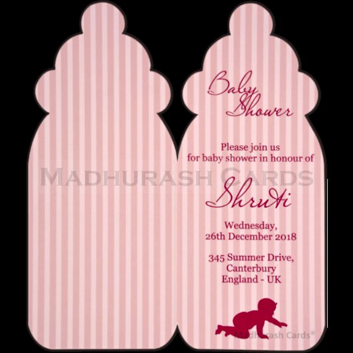 Baby Shower Invitations - BSI-54 - 4