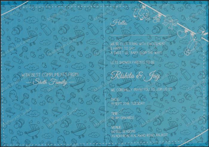 Birthday Invitation Cards - BPI-BB - 4
