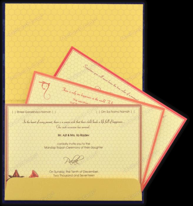 Designer Invitations - DWC-7339 - 4