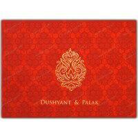 Fabric Wedding Cards - FWI-7340