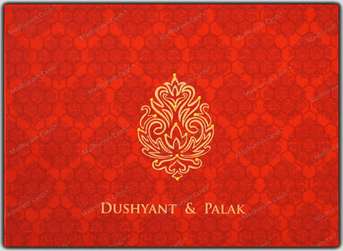 test Fabric Wedding Cards - FWI-7340