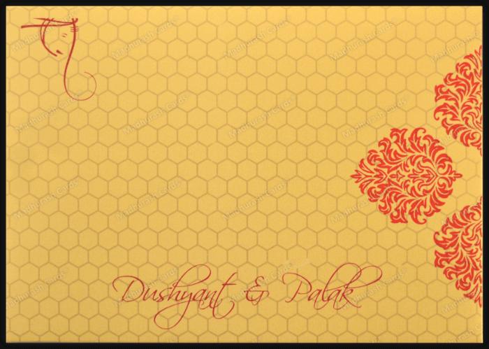 Fabric Wedding Cards - FWI-7340 - 3