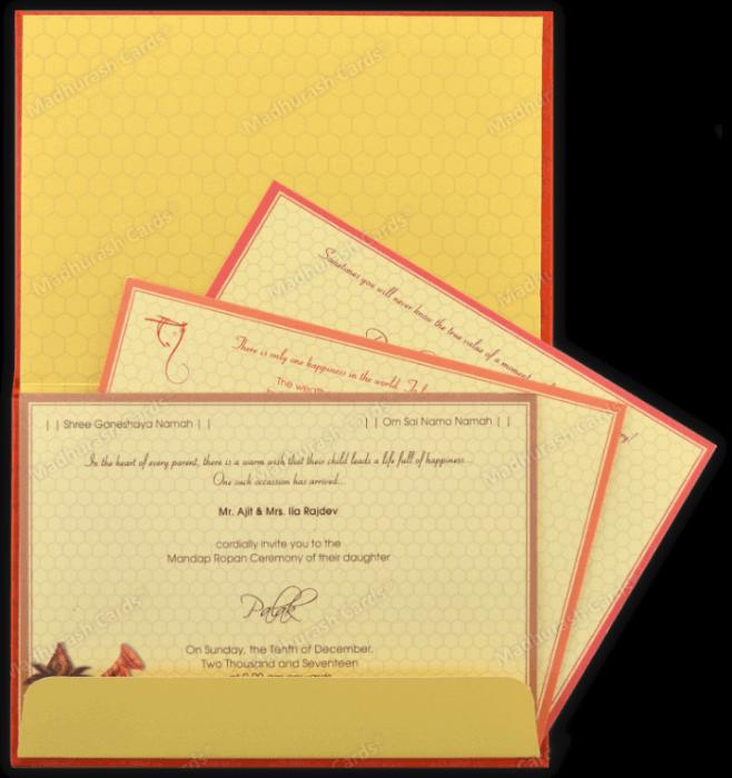Designer Invitations - DWC-7340 - 4