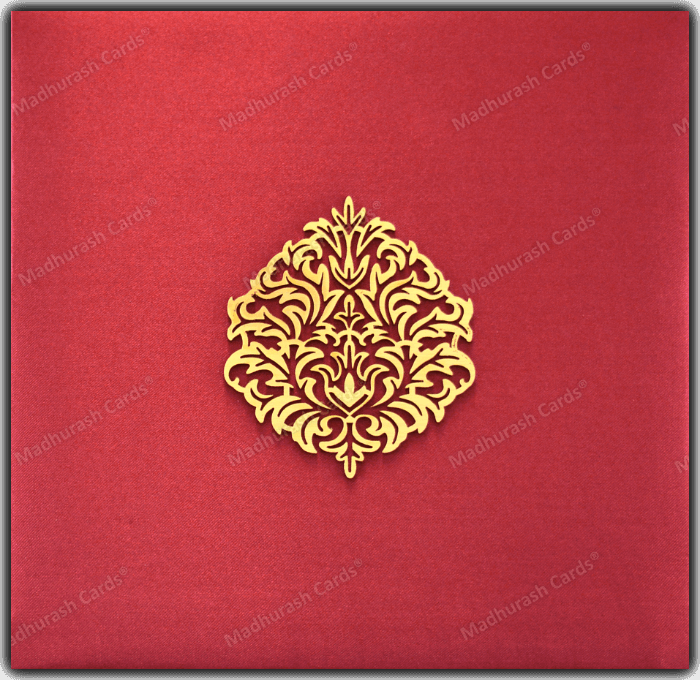 test Fabric Wedding Cards - FWI-9205A