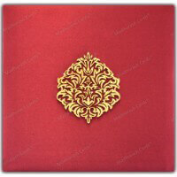 Custom Wedding Cards - CZC-9205A