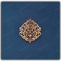 Fabric Wedding Cards - FWI-9205B