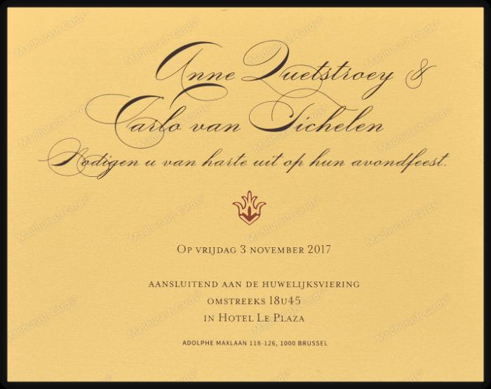 Fabric Invitations - FWI-9205B - 5