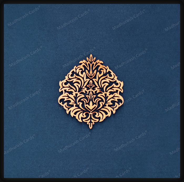test Custom Wedding Cards - CZC-9205B