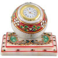 New Arrival - MG-Marble flower painting square watch