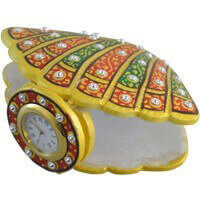 Traditional & Marble Gifts - MG-Marble shell shape watch