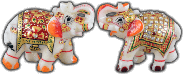 Traditional Gifts - TG-Marble elephant