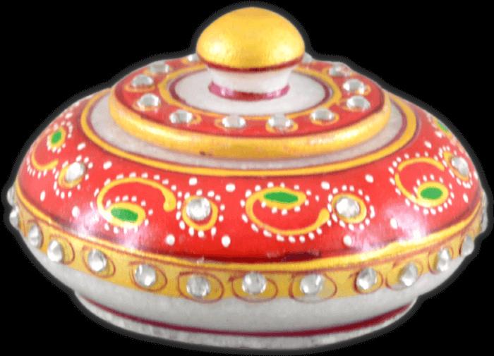 Traditional & Marble Gifts - MG-Marble sindoor daani - 3