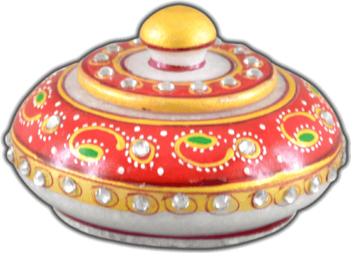 Traditional Gifts - TG-Marble sindoor dani 1 - 3