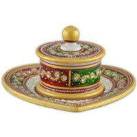 Traditional & Marble Gifts - MG-Supari bowl set
