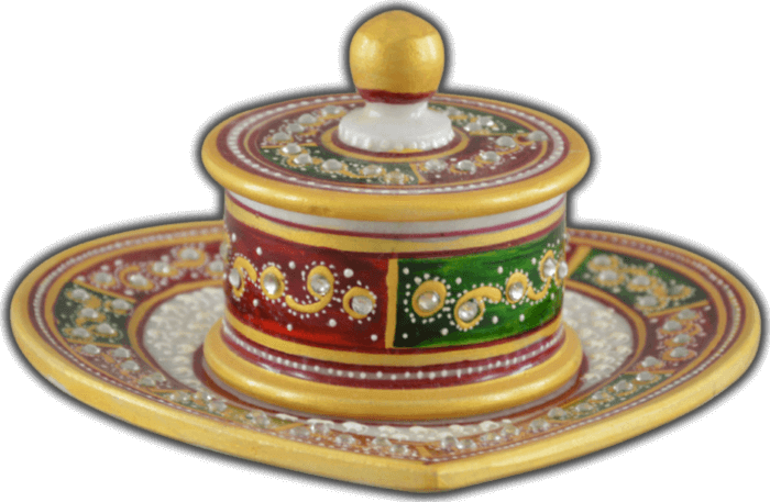 test Traditional & Marble Gifts - MG-Supari bowl set
