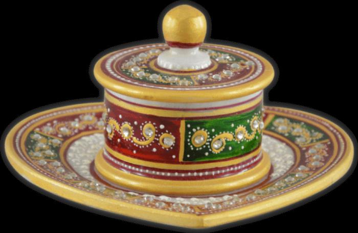 Traditional & Marble Gifts - MG-Supari bowl set