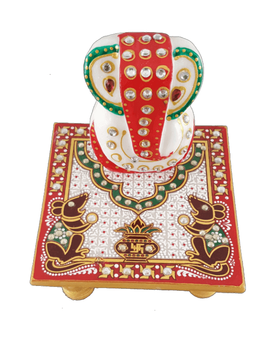 test Traditional Gifts - TG-Ganpati chowki mouse