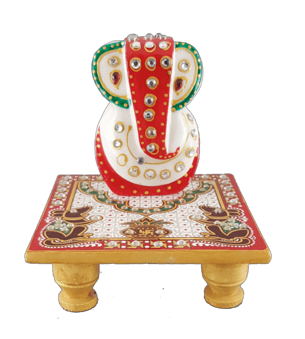 Traditional Gifts - TG-Ganpati chowki mouse - 3