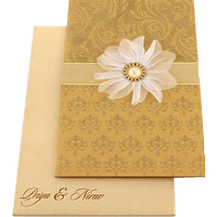 Designer Wedding Cards - DWC-16085