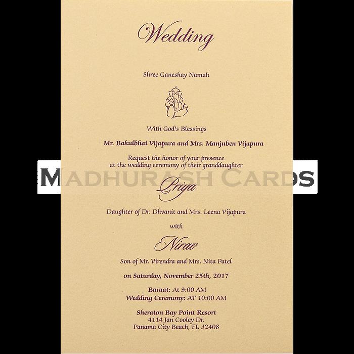 Designer Wedding Cards - DWC-16085 - 5