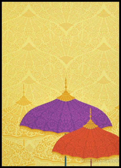 Muslim Wedding Invitations - MWC-16148. - 3