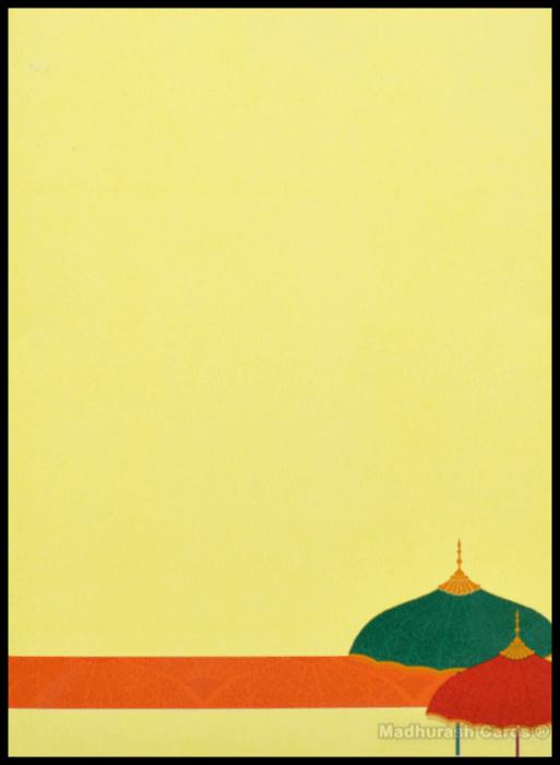 Muslim Wedding Invitations - MWC-16148. - 5