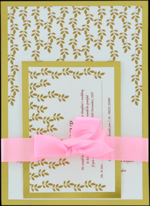 Customized Wedding Invitations - CZC-9534