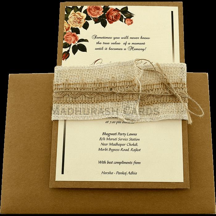 Custom Wedding Cards - CZC-9463 - 3