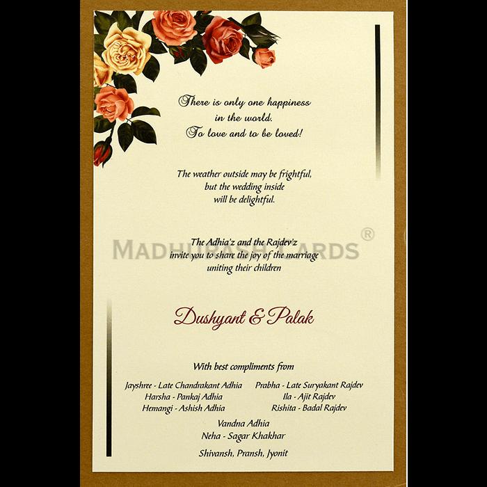 Custom Wedding Cards - CZC-9463 - 5