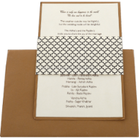 Custom Wedding Cards - CZC-9522