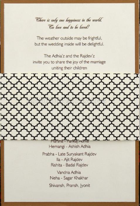 test Custom Wedding Cards - CZC-9522