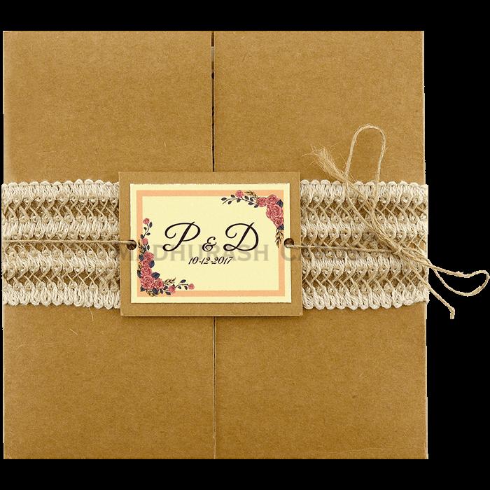 Custom Wedding Cards - CZC-9411