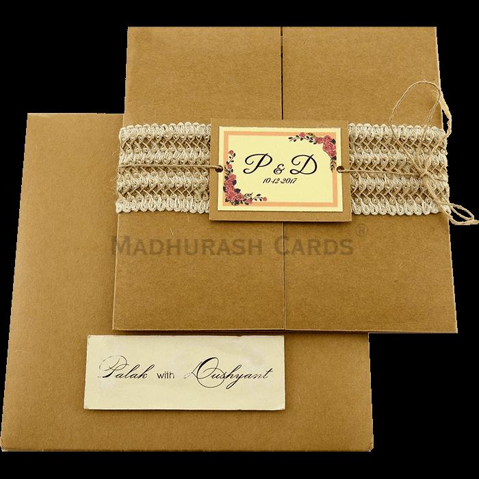 Custom Wedding Cards - CZC-9411 - 3