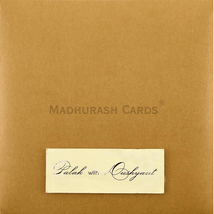 Custom Wedding Cards - CZC-9411 - 4