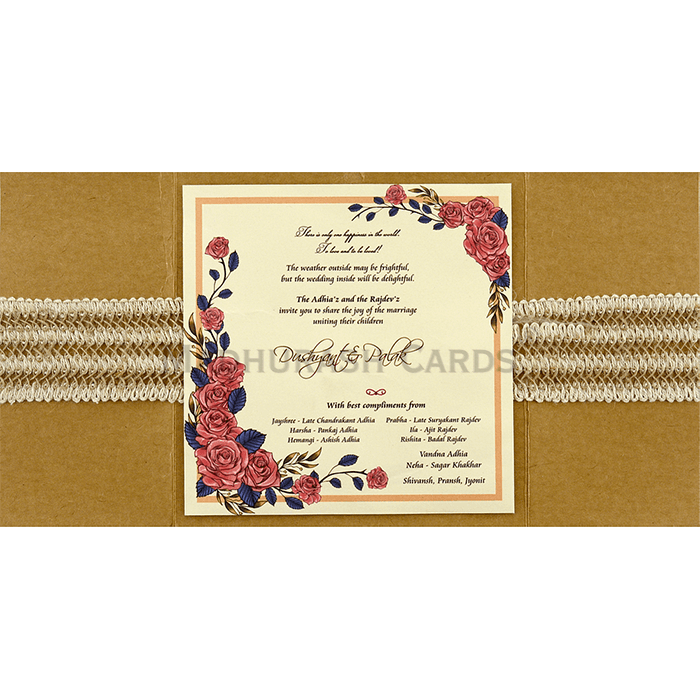 Custom Wedding Cards - CZC-9411 - 5